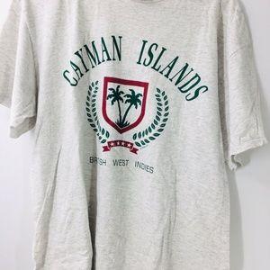 VTG Oneita Cayman Island BWI British West Indies